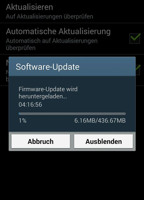 Samsung Galaxy Note 2 Update