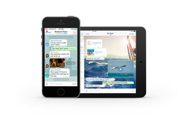 Telegram HD iOS Header