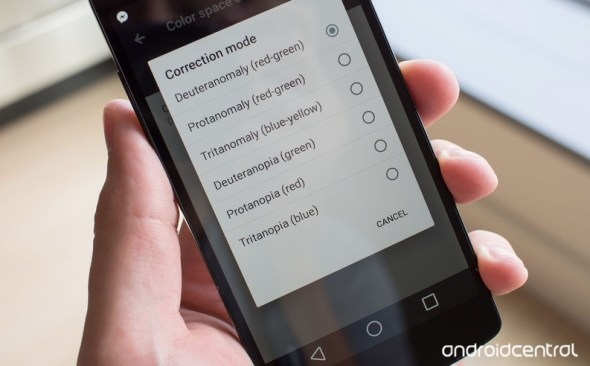 android l farbenblinde