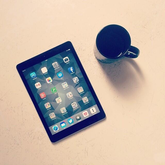iPad Instagram Bild