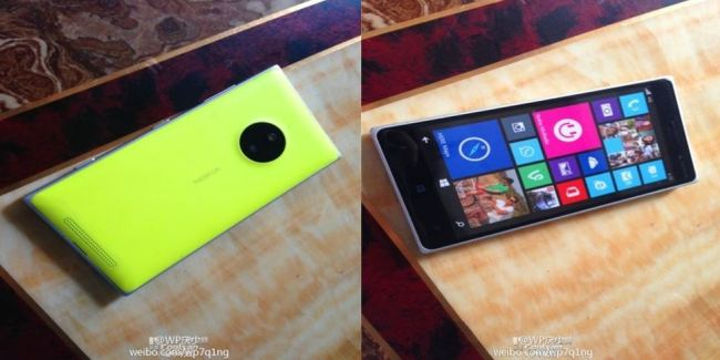 Lumia 830 Leak One