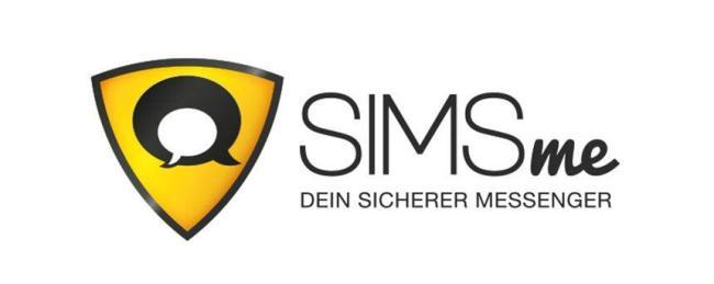SIMSme Messenger Logo Header