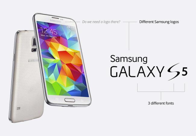 Samsung Konzept Schrift