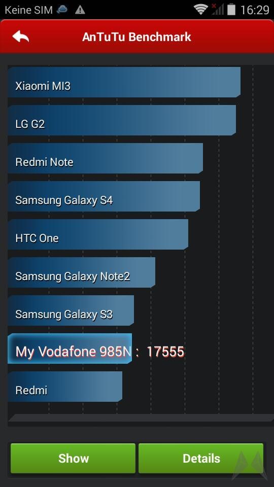 Vodafone Smart 4 Power Screen (15) 15