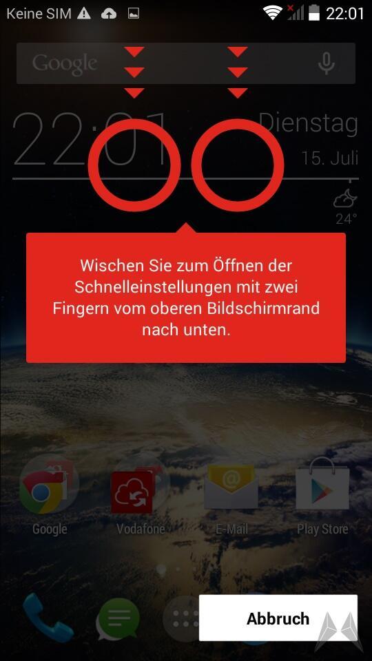 Vodafone Smart 4 Power Screen (3) 3