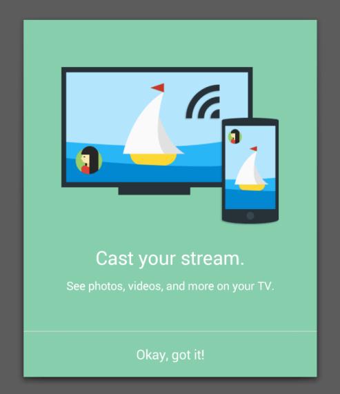 chromecast google plus