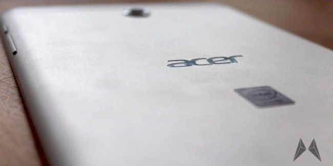 Acer Iconia Tab 8 Header