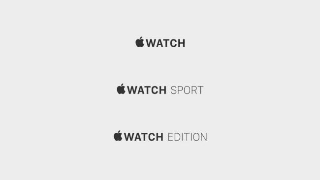 Apple Watch Editionen
