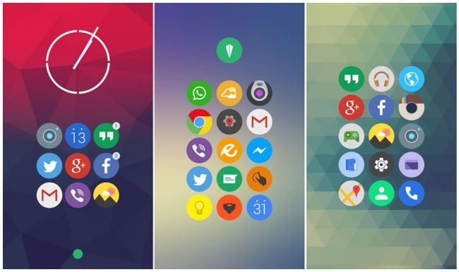 Elun Icon Pack Android Screens