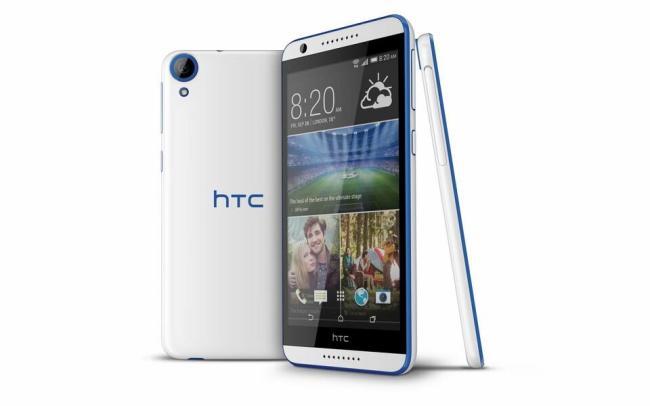 HTC Desire 820 Weiß Blau