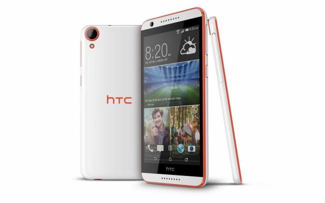 HTC Desire 820 Weiß Rot