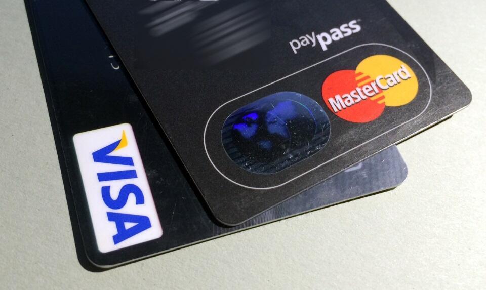 Kreditkarte Header