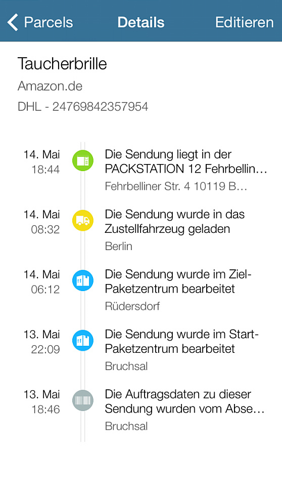 Parcel Details Kein Tracking_960