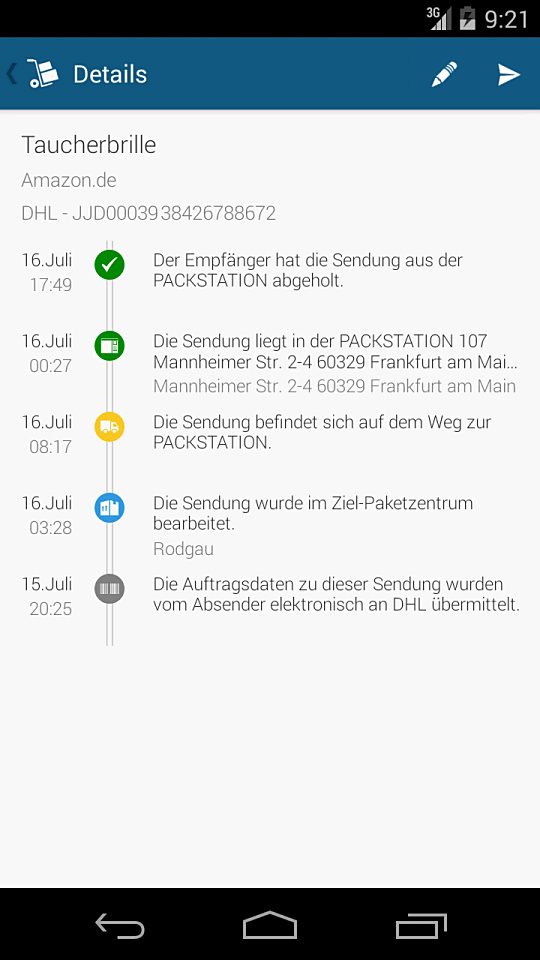 ParcelTrack Screen 3 - Kein Tracking_960
