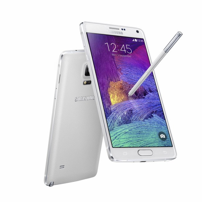 Samsung Galaxy Note 4 Weiß