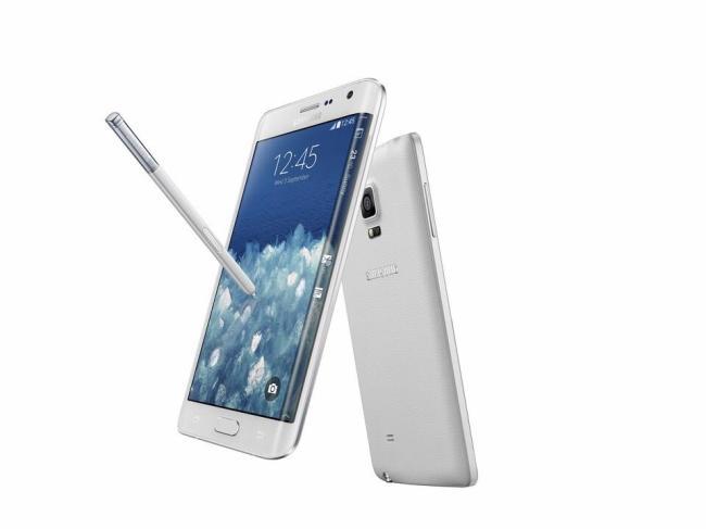 Samsung Galaxy Note Edge Weiß