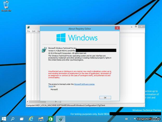 Windows Tech Preview 2