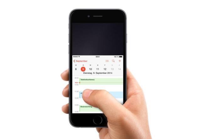 iPhone 6 Einhandmodus Header