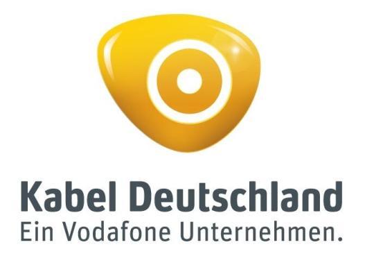 Kabel Deutschland Zweitreceiver