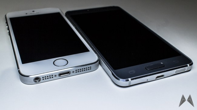 samsung galaxy alpha iphone 1