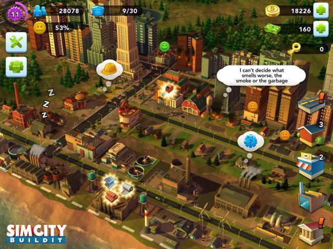 simcity buildit freemium
