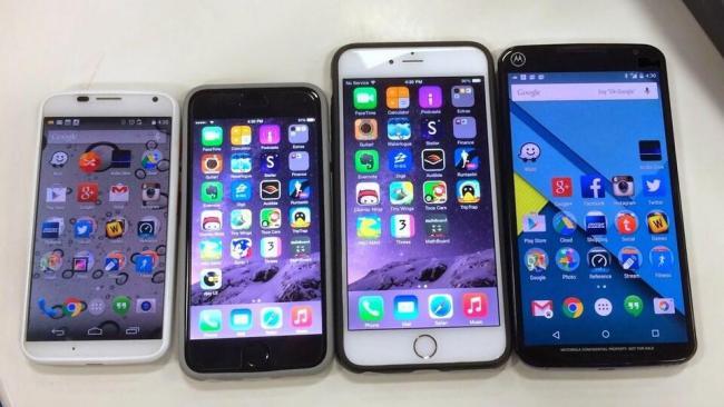 Nexus 6 im Vergleich