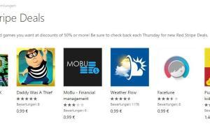 Red Stripe Deals für Windows Phone Aktionsapps für KW 412014