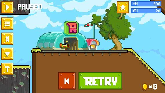 Retry Screenshot