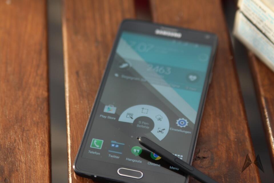 Samsung Galaxy Note 4: Update auf Android 5.0 Lollipop wird verteilt