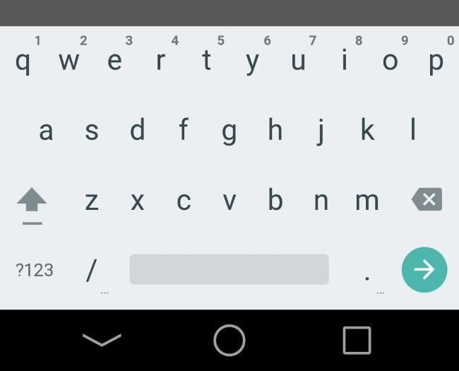 android L tastatur hell screen (1)