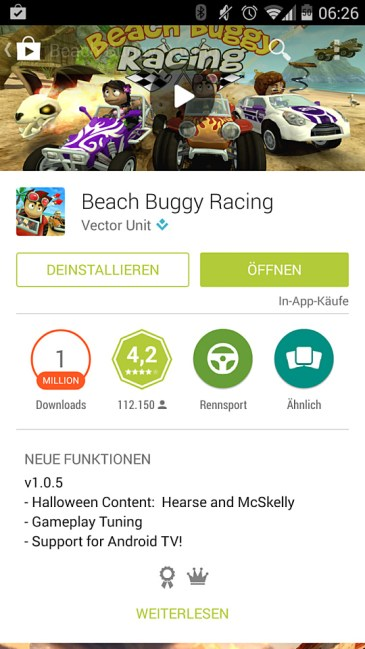 android tv app game