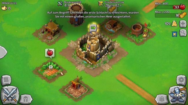 castle siege provisorisches heer