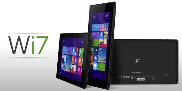 Allview WI7: 7 Zoll Windows-Tablet kommt zum Kampfpreis von 69,95 Euro