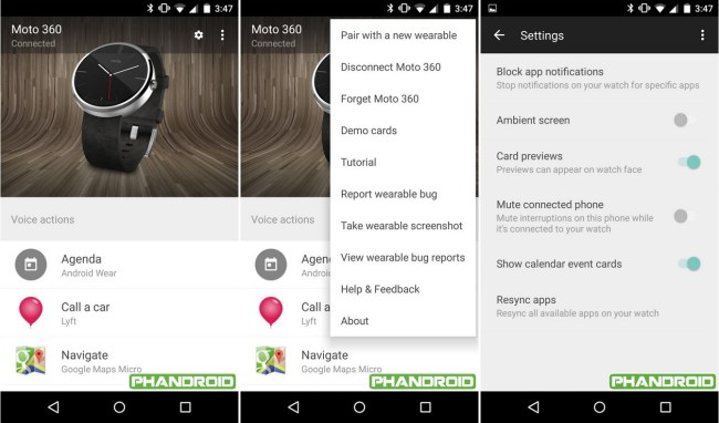 Android Wear App für Lollipop