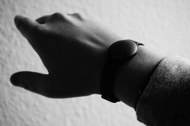 Fitness Tracker Hand