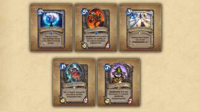 Hearthstone_Goblins_Vs_Gnomes_Karten