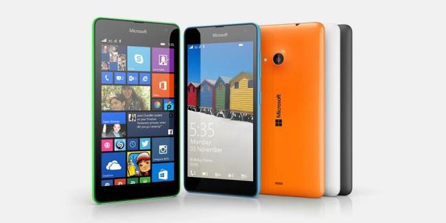 Microsoft Lumia 535 Header
