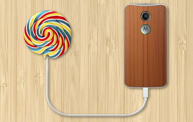 Motorola Lollipop Header