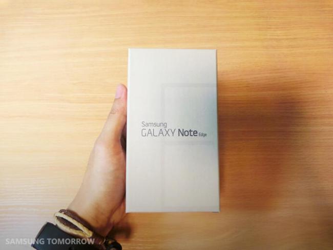Samsung Galaxy Note Edge Box