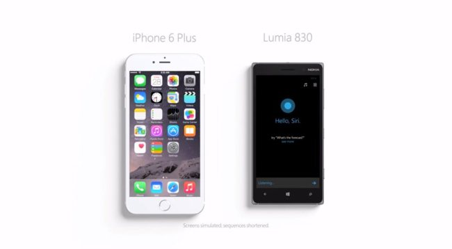 Siri vs Cortana - Bigger