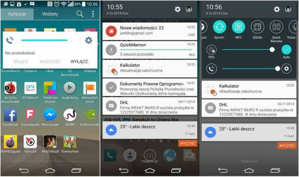lg g3 android lollipop screenshots