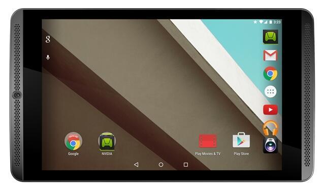 NVIDIA Shield Tablet erhält Android-5.1