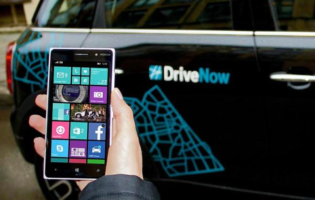 DriveNow Windows Phone