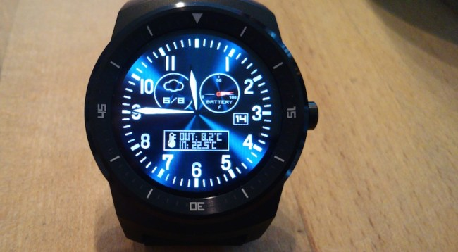 LG G Watch R Homewizard