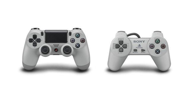 PS4 Grau Controller