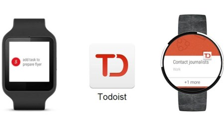 Todoist Android Wear Header