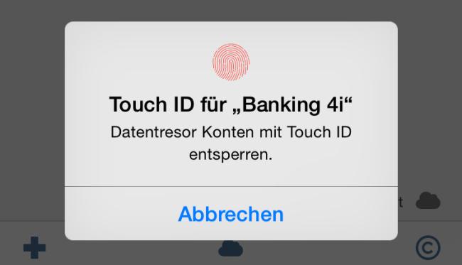 touch id fingerprint