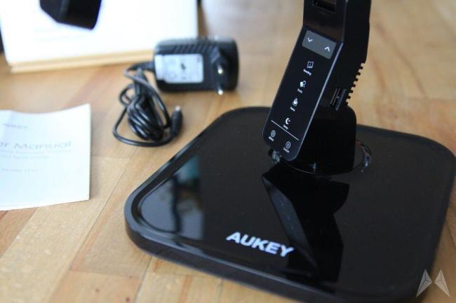 Aukey LT-T1 dimmbare LED Schreibtischlampe TOUCH