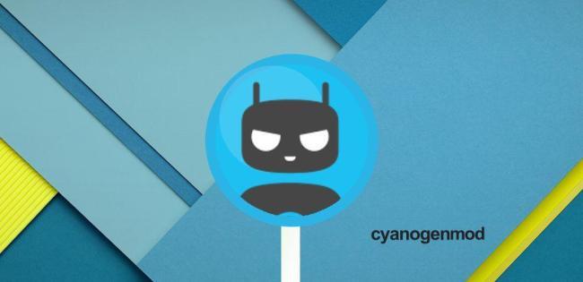 Cyanogenmod CM 12 Lollipop Header