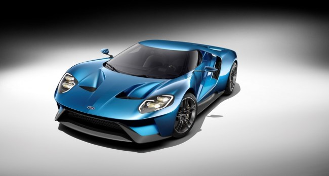 Neuer Supersportwagen Ford GT